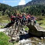 foto de grupo río Juclar, vall d'Incles